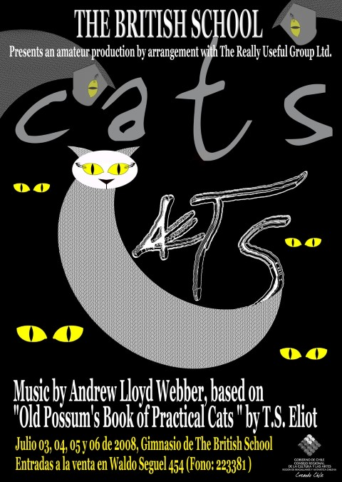 Afiche CATS (Small)