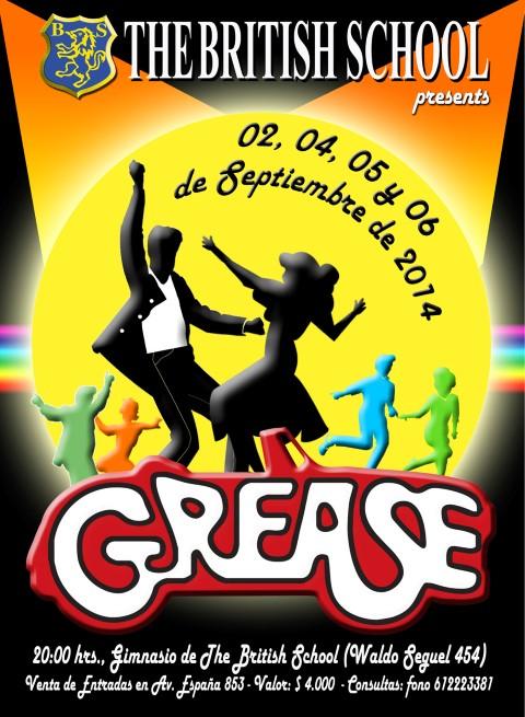 Afiche Grease (Small)