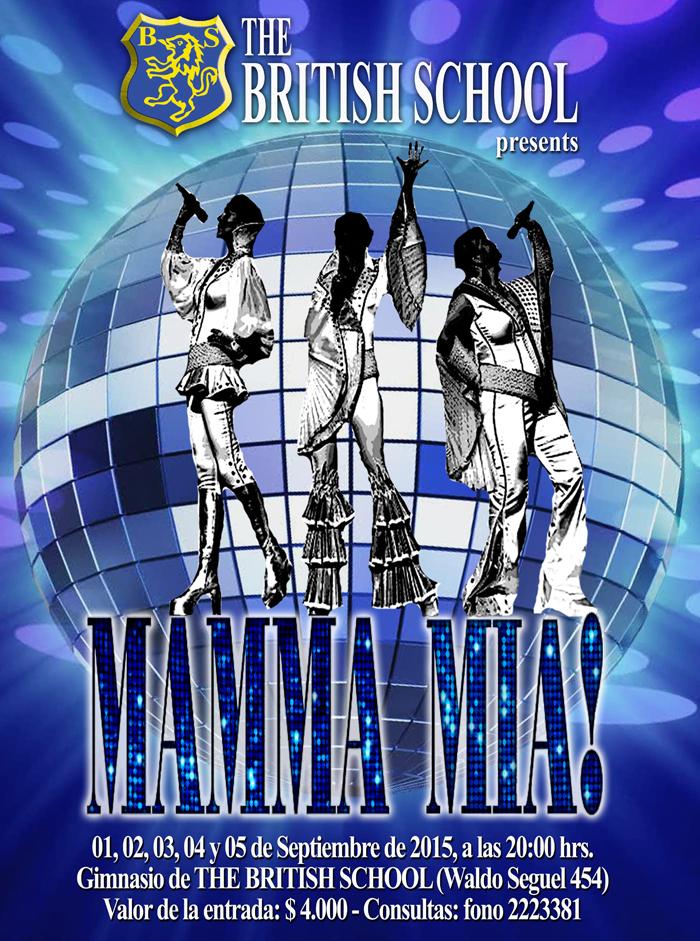 Afiche Mamma Mia-ch