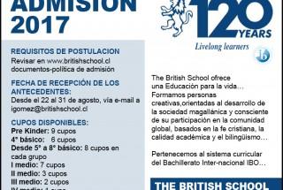 212976 ADMISION BRITISH